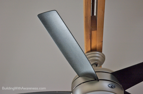 Gossamer wind energy star ceiling fan