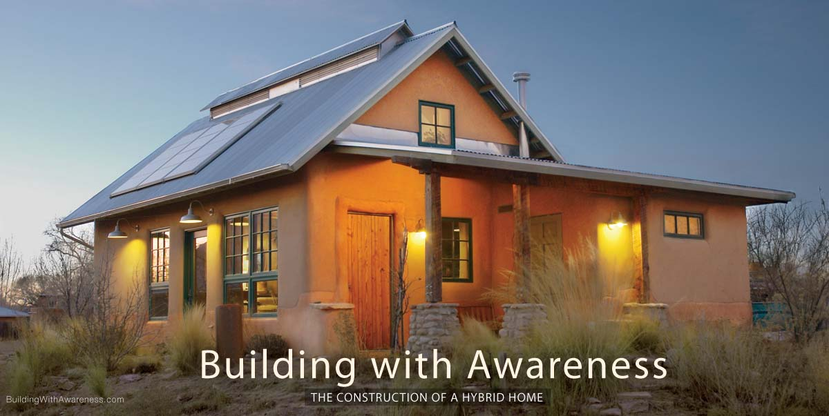 Building With Awareness How To Build A Solar Straw Bale